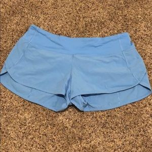 lululemon speed shorts. Size 6.
